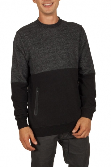 Globe Dusted sweatshirt black melange