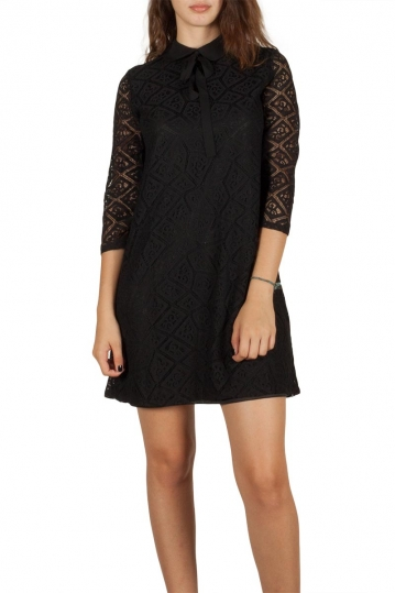 Ryujee Draga lace dress black