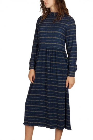Soft Rebels Part midi dress night sky