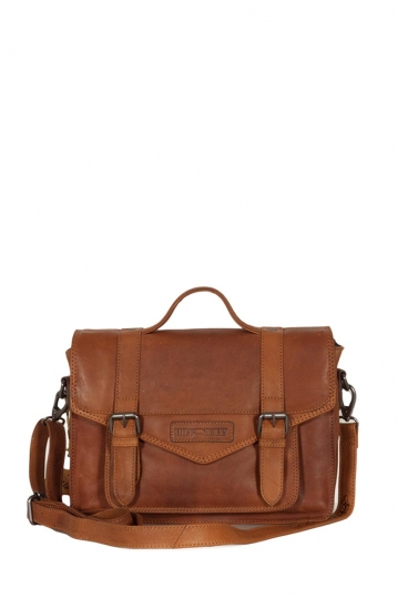 Hill Burry leather cross body bag brown
