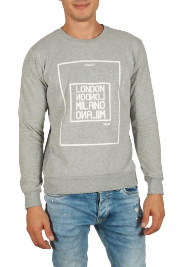 LTB Cinako men's sweatshirt grey melange