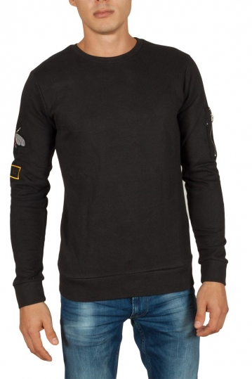 Anerkjendt Sverre sweatshirt black
