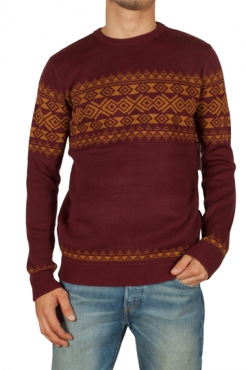 Globe Stash men's jumper bordeaux