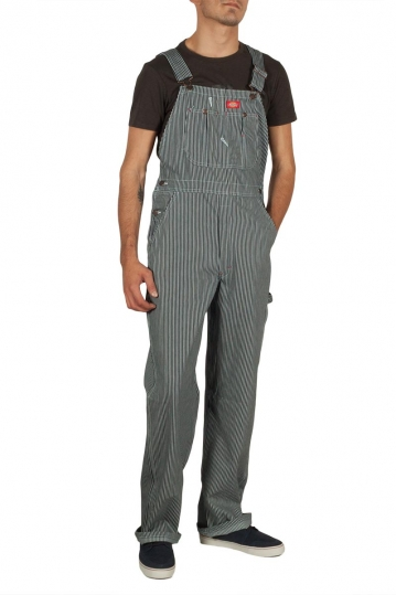 Dickies overall hickory stripe