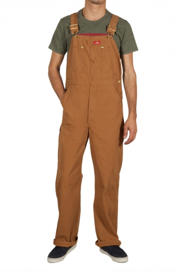 Dickies overall rinsed brown duck