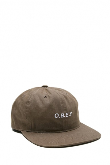 Obey Barrage hat olive brown