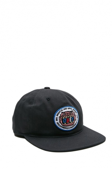 Obey Big mouth hat black
