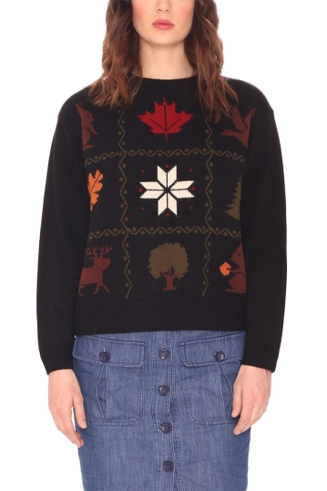 Pepaloves Winter jumper black