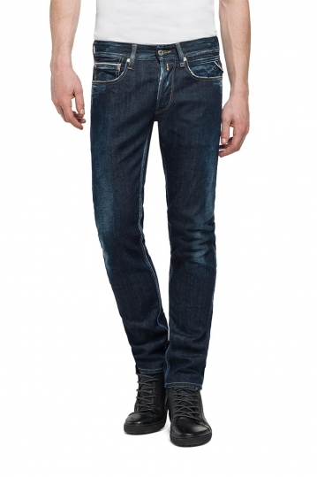 Replay Ronas slim-fit jeans dark blue