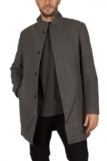 Tokyo Laundry Libertas καρό παλτό γκρι-μαύρο