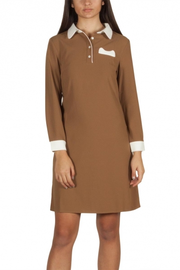 Migle + me mini dress brown