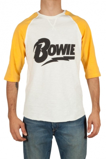 Worn By David Bowie raglan tee white
