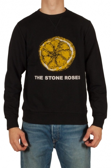 "Worn By The Stone Roses ""Lemon"" men's sweatshirt black"