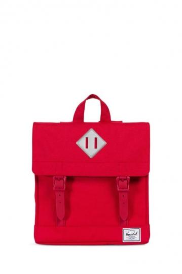 Herschel Supply Co. Survey Kids backpack red/reflective rubber