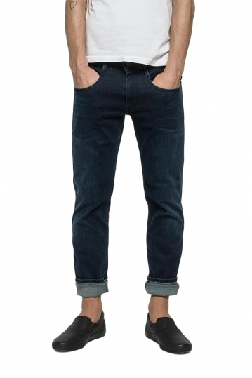 Replay Anbass slim fit jeans dark blue