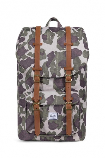 Herschel Supply Co. Little America backpack frog camo/tan