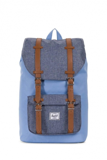 Herschel Supply Co. Little America mid volume backpack hydrangea/dark chambray crosshatch
