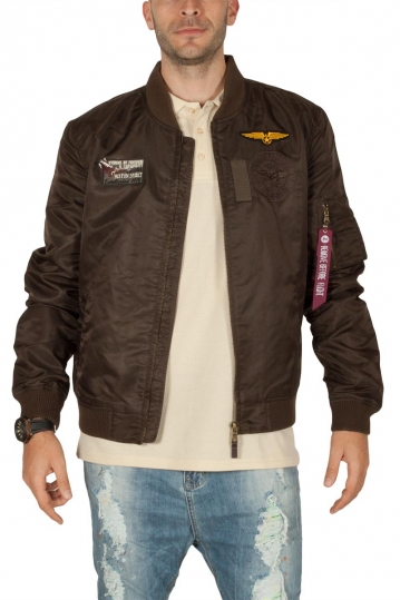 Biston men's bomber jacket khaki