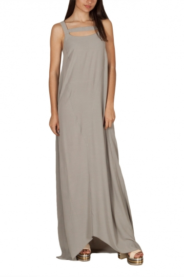 Lotus Eaters Toronto extra maxi dress ice grey