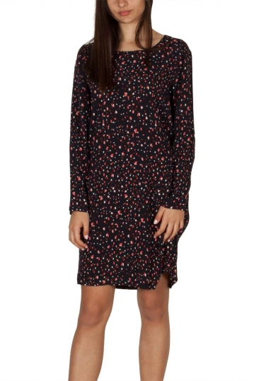 Soft Rebels Safi tunic dress black printed