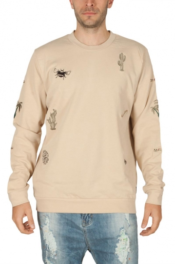 Anerkjendt Sverre men's sweat fog with embroidery
