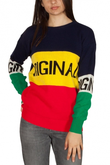 Daisy Street color block jumper