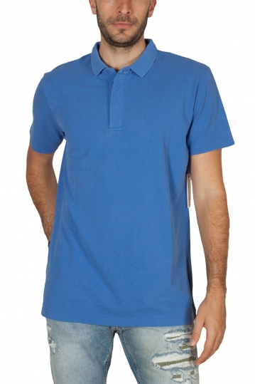 Globe Goodstock polo shirt atoll blue
