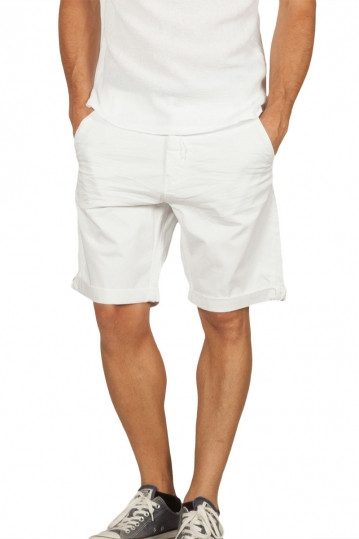 Biston men's chino shorts white