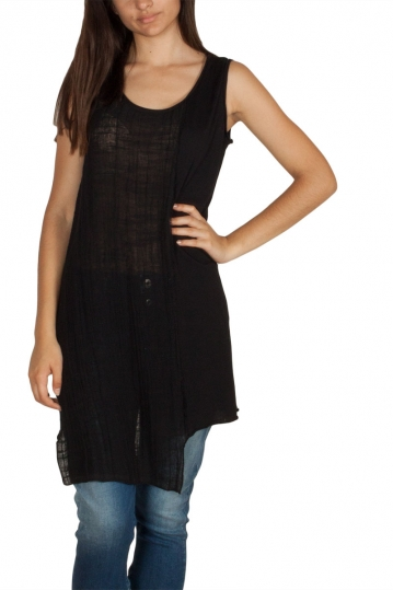 Lotus Eaters Dallas sleeveless tunic black