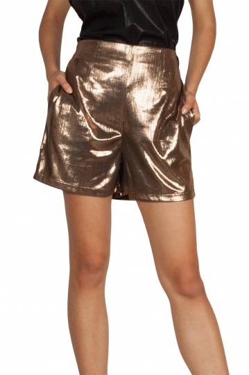Lotus Eaters Madrid shorts gold
