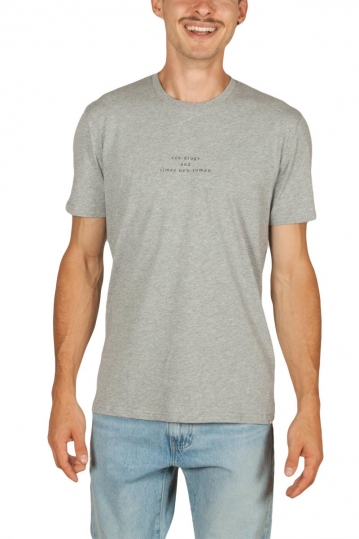 Minimum Mirac men's t-shirt grey melange