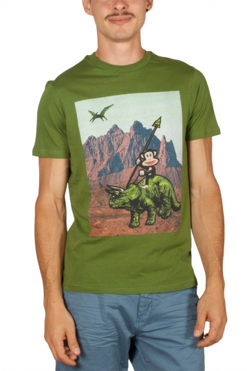 Paul Frank men's t-shirt Julius olive