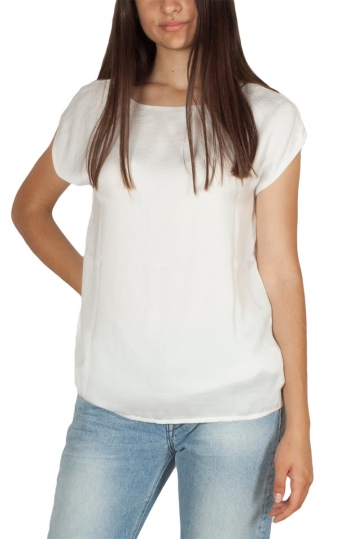 Rut & Circle Lucy V-back top white
