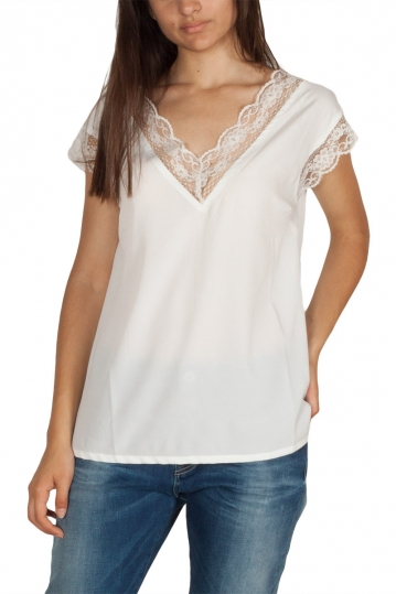 Rut & Circle Suri sleeveless lace top white