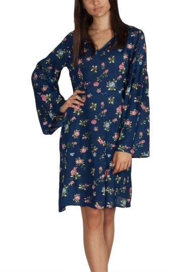 Rut & Circle Zoley mini dress navy floral