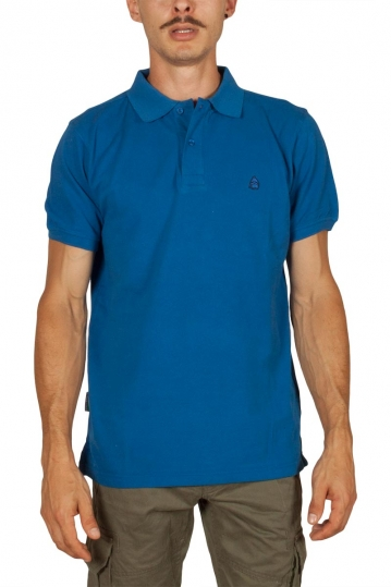 Beneto Maretti pique polo shirt electric blue