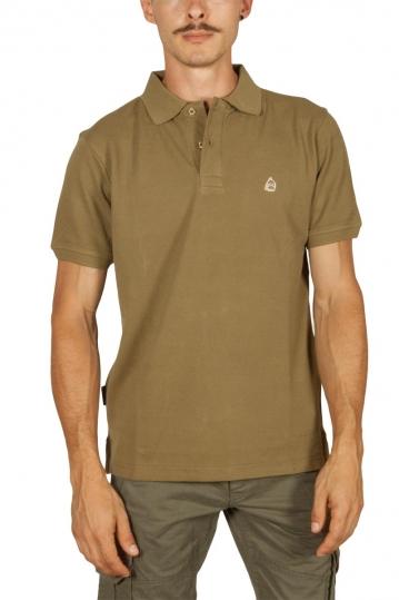 Beneto Maretti pique polo shirt khaki green