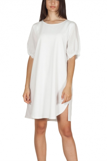 Migle + me t-shirt dress Jellyfish white
