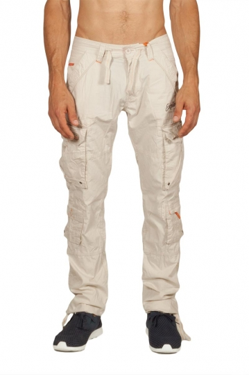 Ritchie multipocket cargo pants galet