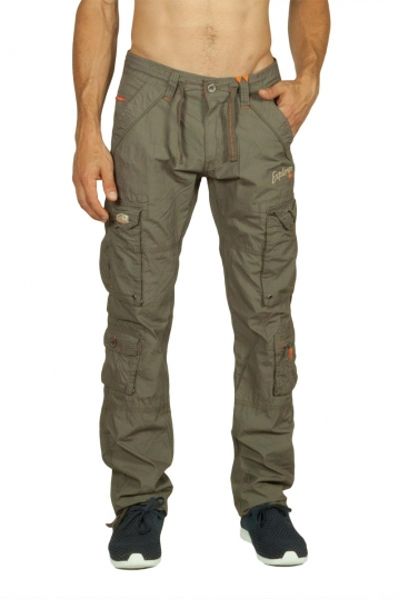 Ritchie multipocket cargo pants light khaki green