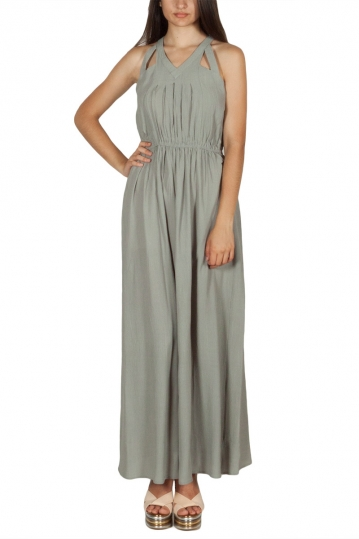 Rut & Circle Hip maxi dress green stone