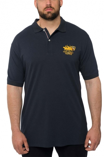 Men's polo shirt navy Insane plus