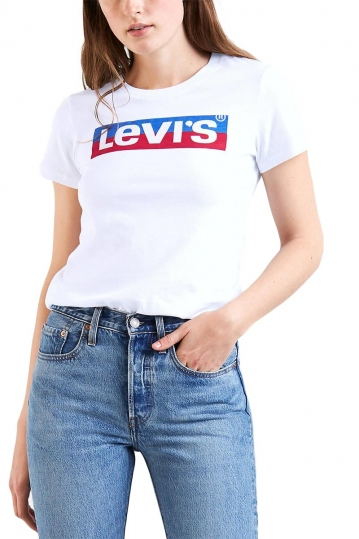 Γυναικείο LEVI'S® perfect tee new split box tab