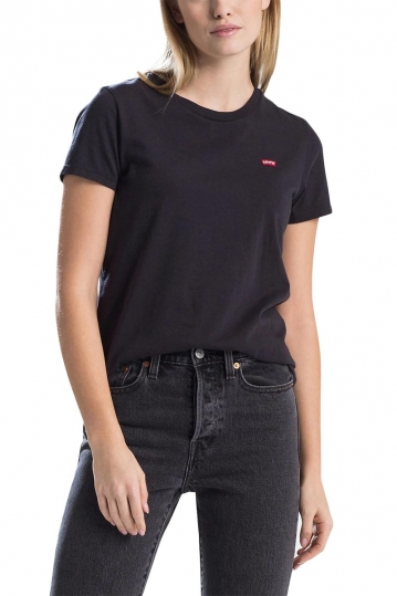 Women's LEVI'S® perfect tee black