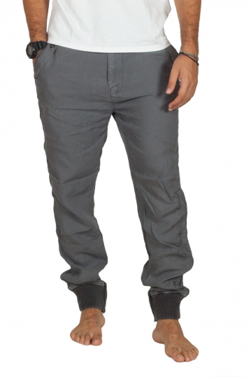 Splendid men's linen jogger pants dark grey