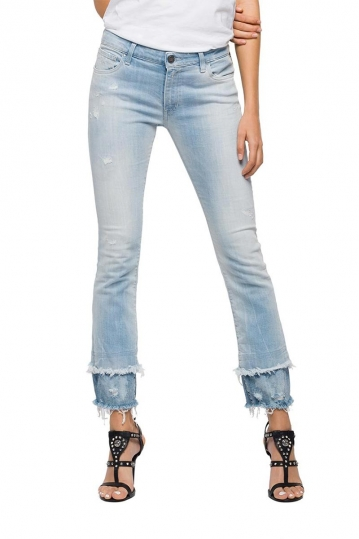 Replay Dominiqli slim fit jeans light denim blue
