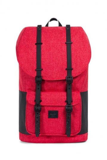 Herschel Supply Co. Little America Aspect backpack barbados cherry crosshatch/black