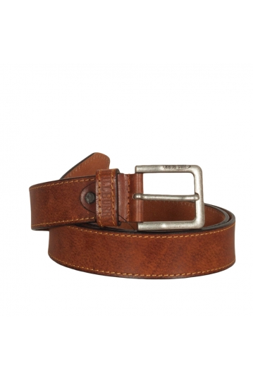 Hill Burry men's leather belt tan - 3077