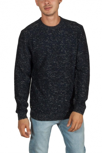 Globe Spacer men's sweater navy