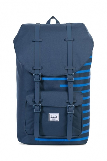Herschel Supply Co. Little America backpack navy Offset stripe